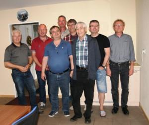 Dorfpokalschiessen 2016 in Giesen, 2 Mannschaften vom TSC Schwarz-Gold-Giesen nehmen teil