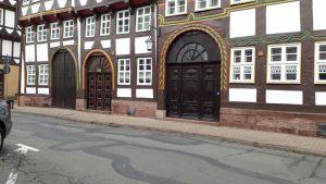 TSC-Ausflug am 26.10.2018 nach Einbeck - Schoene alte Haeuserfronten - Foto M.Uhlig