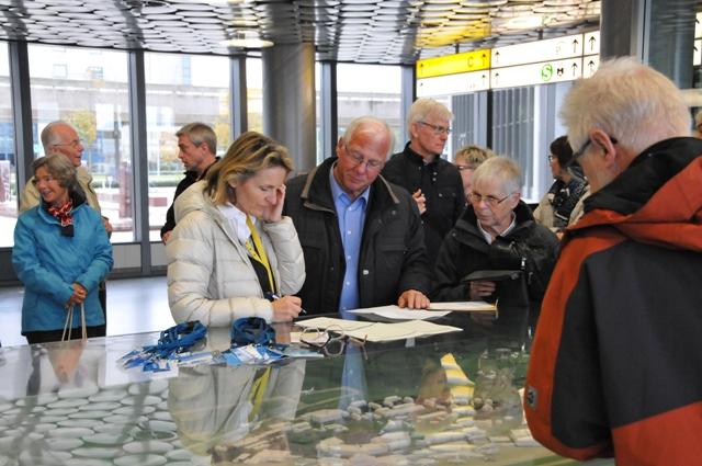 TSC-Flughafenfuehrung 2016 - Ordnung muss sein - Foto: Werner Haeder