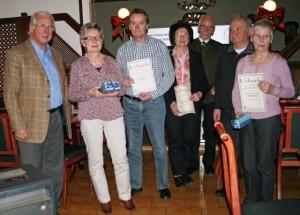 TSC-Jahresabschlussfeier 2016 - Ehrung langjaehriger Mitglieder