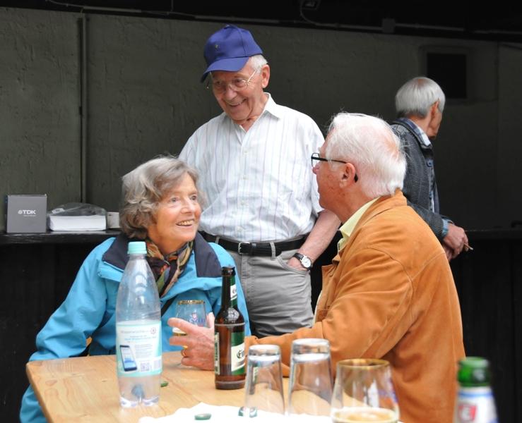 TSC-Sommerfest 2017 - Ingrid ist wieder dabei - Foto Werner Haeder