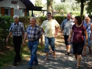 TSC-Sommerfest - Auf zum Wandern - Foto:W.Haeder
