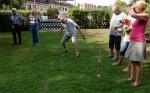 TSC-Sommerfest 2016 - Auslosung der Startseite beim Wikingerspiel