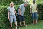 TSC-Sommerfest 2016 - Taenzer beim Wikinger-Spiel - Wo ist das Ziel............