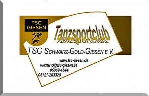 Tanzsportclub TSC Schwarz-Gold-Giesen e.V. - Visitenkarte
