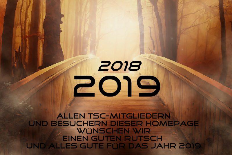 TSC wuenscht guten Rutsch ins Jahr 2019